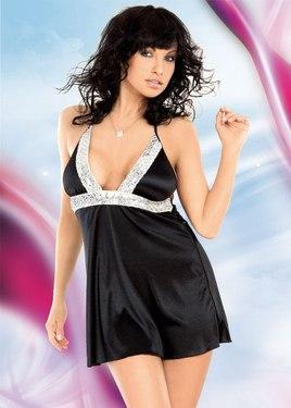 Мини платье черное
